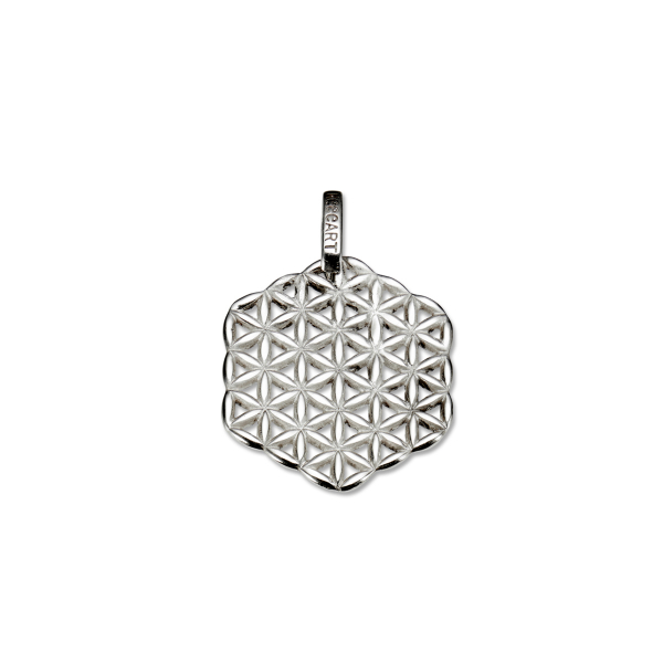Flower of life pendant pendant silver flower of life pendant mozeypictures Gallery